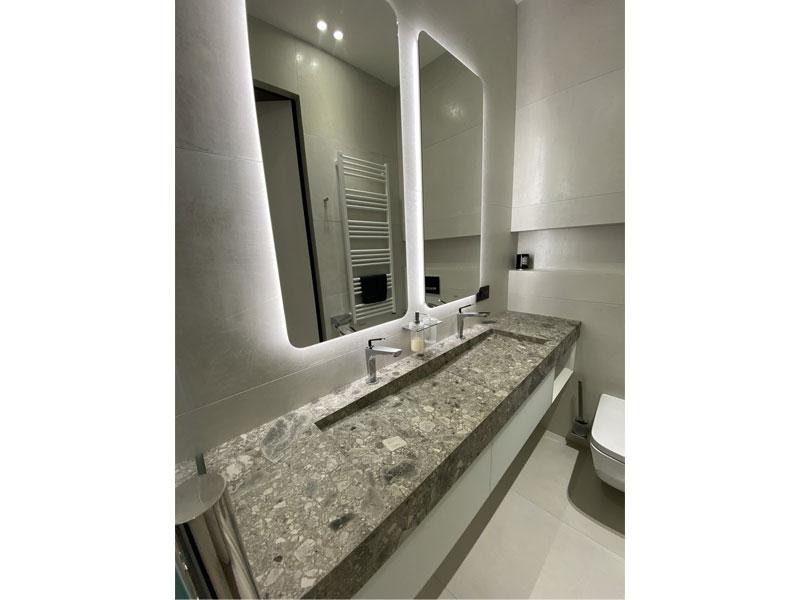 Изделия для ванной комнаты из керамогранита